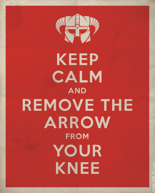 arrow in the knee