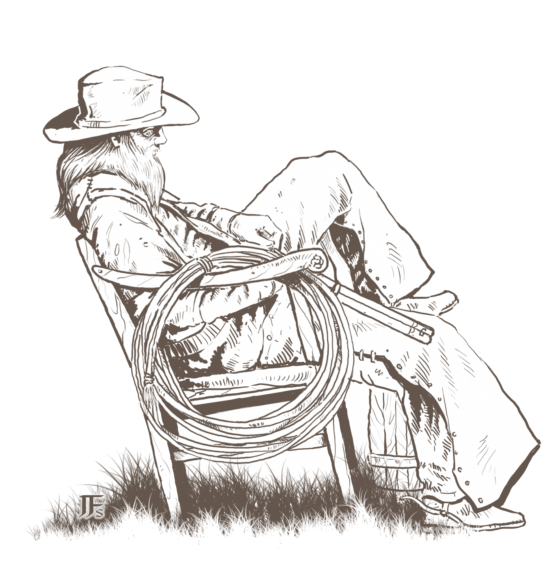Deadlands Pre-gens: The Magnificent Seven Character Folio