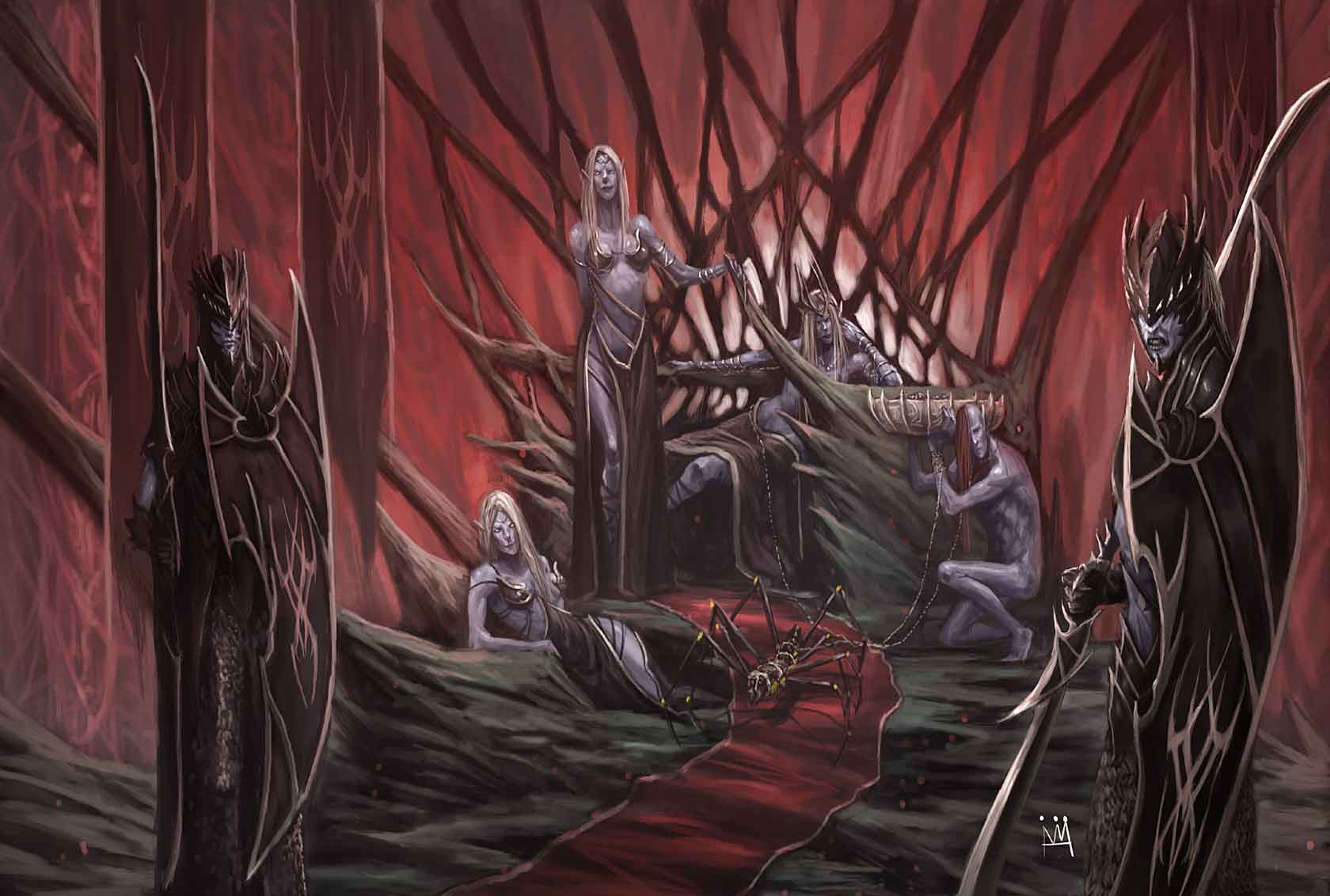 Throne of the Drow