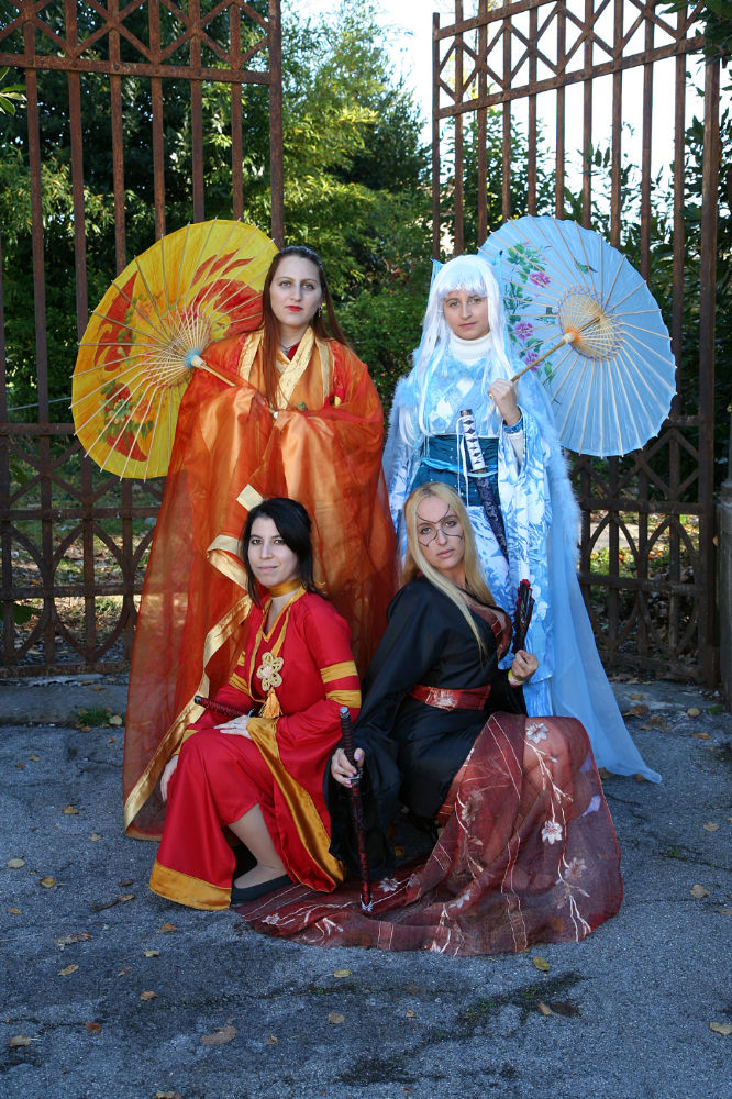 COSPLAY Legend Five Rings by ~Kyliria