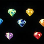 The seven Rainbow Crystals serves as the basis for one story arc of the original Sailor Moon anime