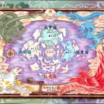 This map of the world of the Universe of the Four Gods looks perfect for translation into an RPG.